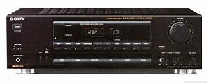 Sony Str-gx311 - Manual - Am  Fm Stereo Receiver