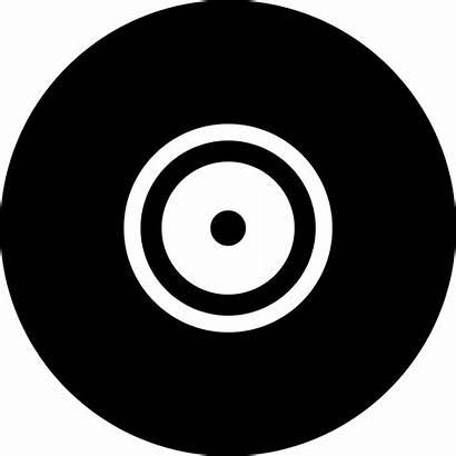 Disc Icon Vinyl Cd Icons Ball Vector