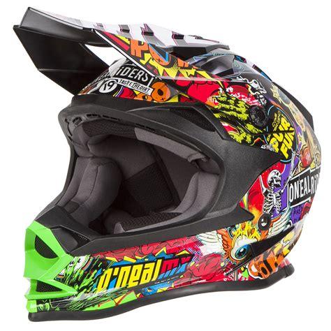 o neal helm o neal helm 7series crank schwarz multi maciag offroad