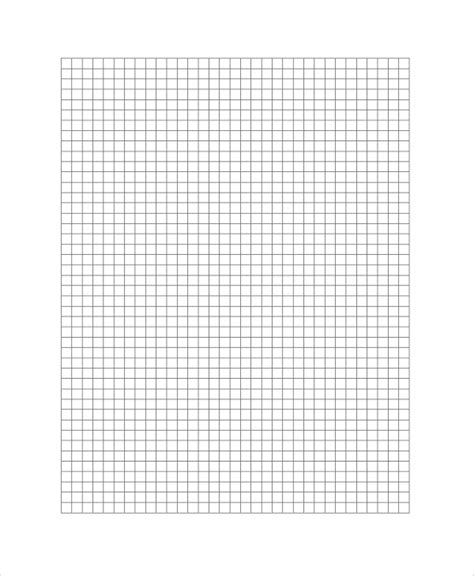 sample printable graph paper  documents   word