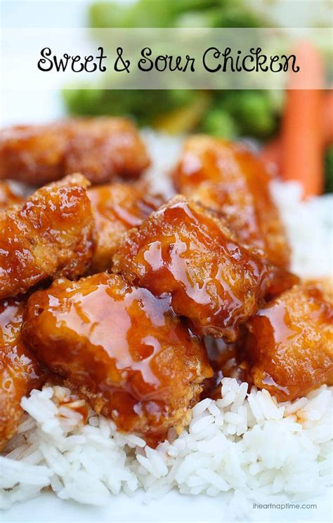 easy baked sweet and sour chicken i heart naptime