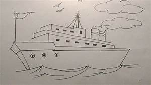 Titanic Shep Ki Pencil Sketch Drawing Photo How To Draw A ...