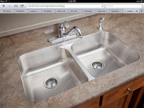 undermount sink  laminate