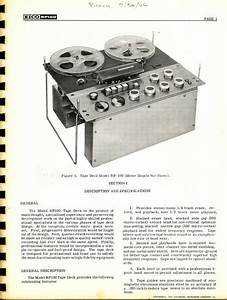 1961 Instruction Manual For The Eico Rp