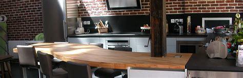 plan de travail cuisine bois brut flip design fabricant de plan de travail en bois massif