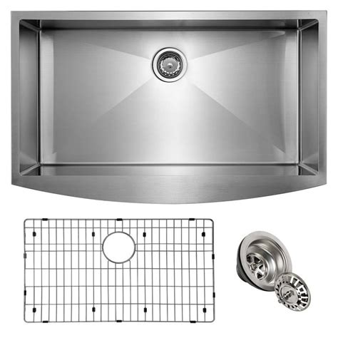 36 x 22 kitchen sink shop giagni 36 in x 22 in stainless steel single basin 7337
