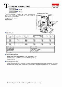 Makita 3612br Manual