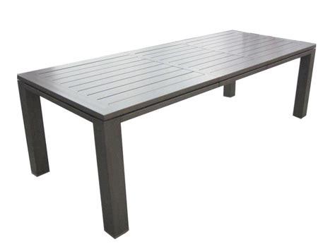 coussins de chaises de jardin table de jardin aluminium 180 240cm océo proloisirs