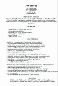 Civil Engineering Resume Example Engineering Resume Templates To Impress Any Employer