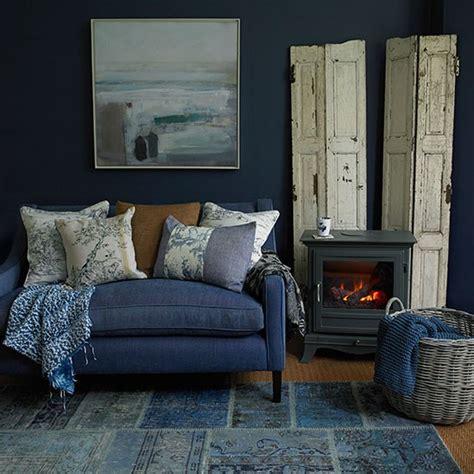indigo decor deep indigo blue living room decorating housetohome co uk