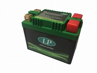 Starter Battery Lithium Motorcycle Cca 8wh Landport