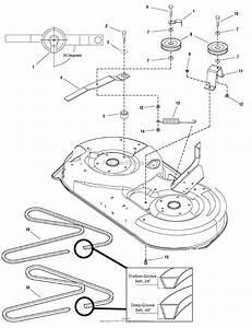 Craftsman Riding Mower Deck Belt Change Wiring Diagram