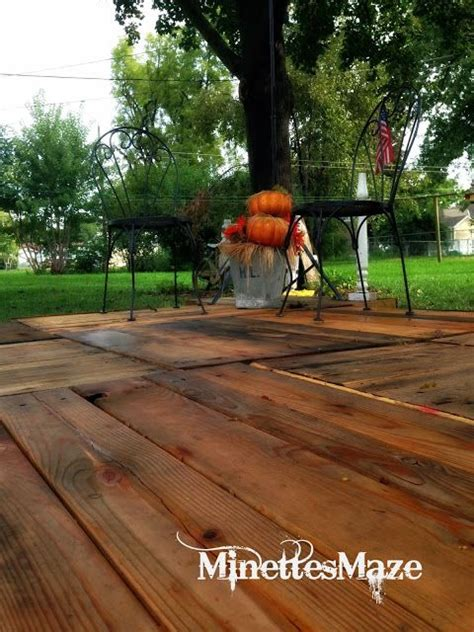 Floating Deck With Pergola Plans