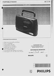Philips Portable Radio Ae 2140 User Guide