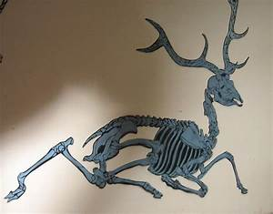 Deer Skeleton stencil by AdomasWillKill on DeviantArt