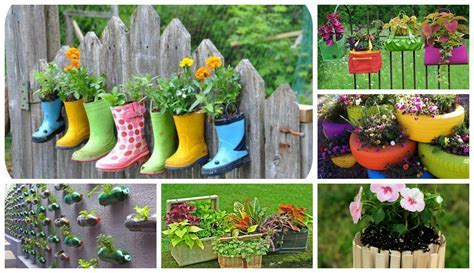 15 DIY Ideas: Turn Old Things Into Beautiful Flower Pots