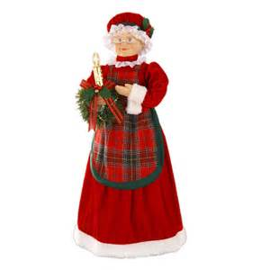 shop holiday living 28 quot animated mrs claus at lowes com