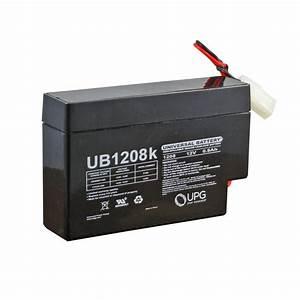 Batterie 12 Volts : 12 volt 0 8 ah sealed lead acid rechargeable battery ~ Farleysfitness.com Idées de Décoration
