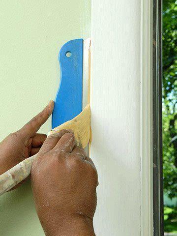 como pintar marcos de puertas  ventanas