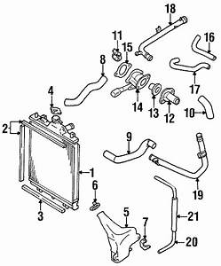 Geo Metro Radiator Air Seal  Liter  Side  Upper