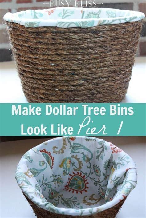 dollar tree storage bins   pier