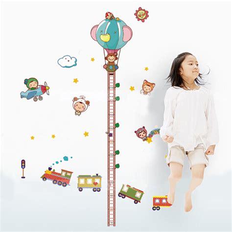 hot children kids height measurement growth chart cartoon
