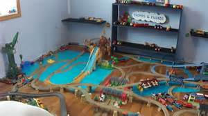 Thomas Tidmouth Sheds Wooden by Thomas Amp Friends Huge Trackmaster Layout New Porter