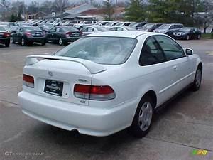 1999 Honda Civic : 1999 taffeta white honda civic ex coupe 9452388 photo 9 car color galleries ~ Medecine-chirurgie-esthetiques.com Avis de Voitures
