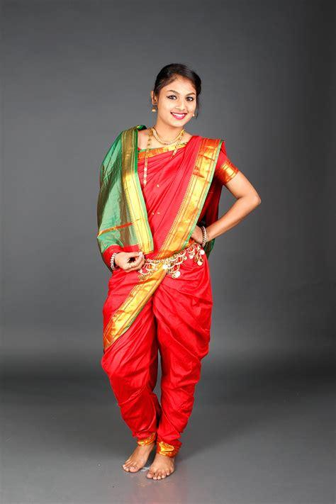 maharasthra  nauvari saree collections  designs