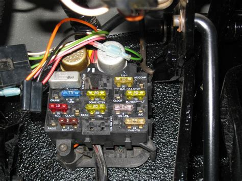 Jeep Cj7 Fuse Block Wiring by Where Does This Go Jeepforum