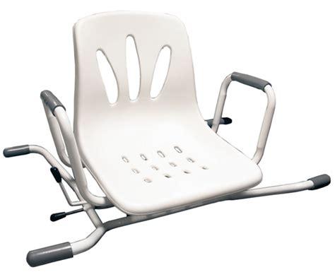 siege pivotant pour baignoire siège de bain pivotant inox blanc herdegen sièges