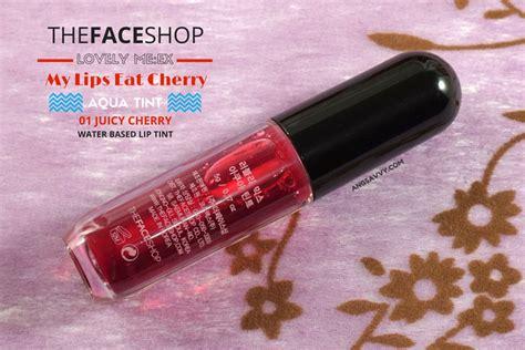 Jual The Shop My Eat Cherry the shop my eat cherry aqua tint review ang savvy