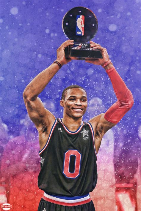 Russell Westbrook Drawing Russell Westbrook Mvp By