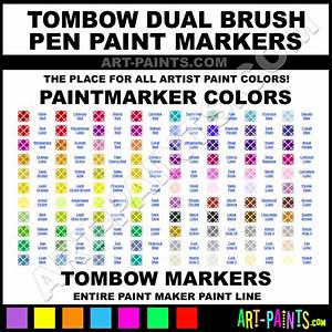 Tombow Dual Brush Pens Paint Marker Paint Marking Pen