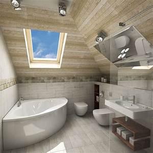 Badezimmer Mit Schräge : die besten 17 ideen zu bad mit dachschr ge auf pinterest ~ Lizthompson.info Haus und Dekorationen