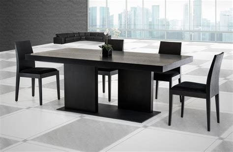 modern black dining table and chairs black dining table chairs 25 best ideas about black
