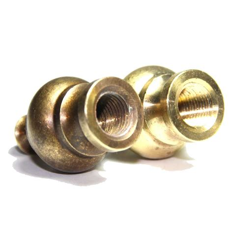 solid brass l finials solid brass crown finial 10mm thread