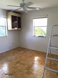 paint wood floors DIY * How To Paint Wood Floors Like A Pro - shabbyfufu.com