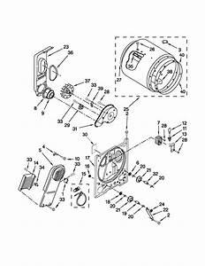 Kenmore 1106192310 Dryer Parts
