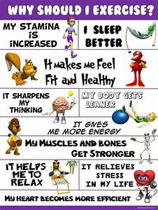 PE Poster: Why Should I Exercise? | Happy, Benefits of ...