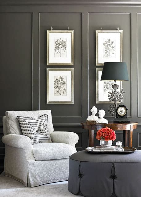 Sophisticated Gray Interior by Eye For Design Grey Interiors Refined And Sophisticated