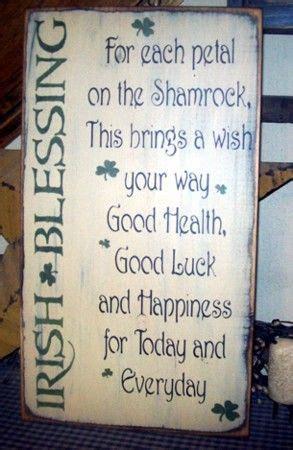 ideas  irish blessing  pinterest irish