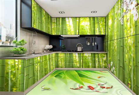 wallpaper custom  floor tiles fresh bamboo wallpaper