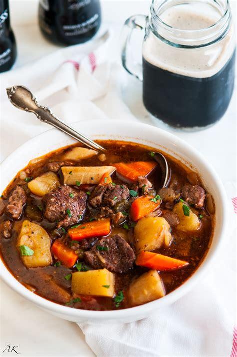 slow cooker guinness beef stew aberdeens kitchen
