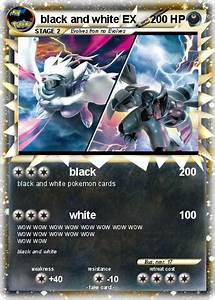Pokémon black and white EX 2 2 - black - My Pokemon Card