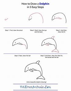 How-to-draw-a-dolphin-step-by-step | How to Draw ...