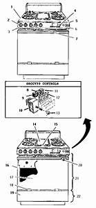 Thermador Gas Range Parts