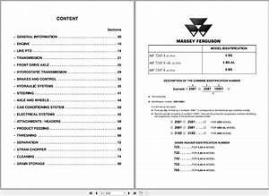 Massey Ferguson Combines Mf7245 S  Mf7245 S Al  Mf7247 S