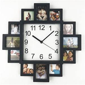Wall Clocks With Picture Frames