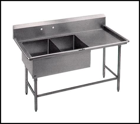 Utility Sinks With Drainboards by Two Bowl Bakery Utility Sink With Drainboard Purchasing